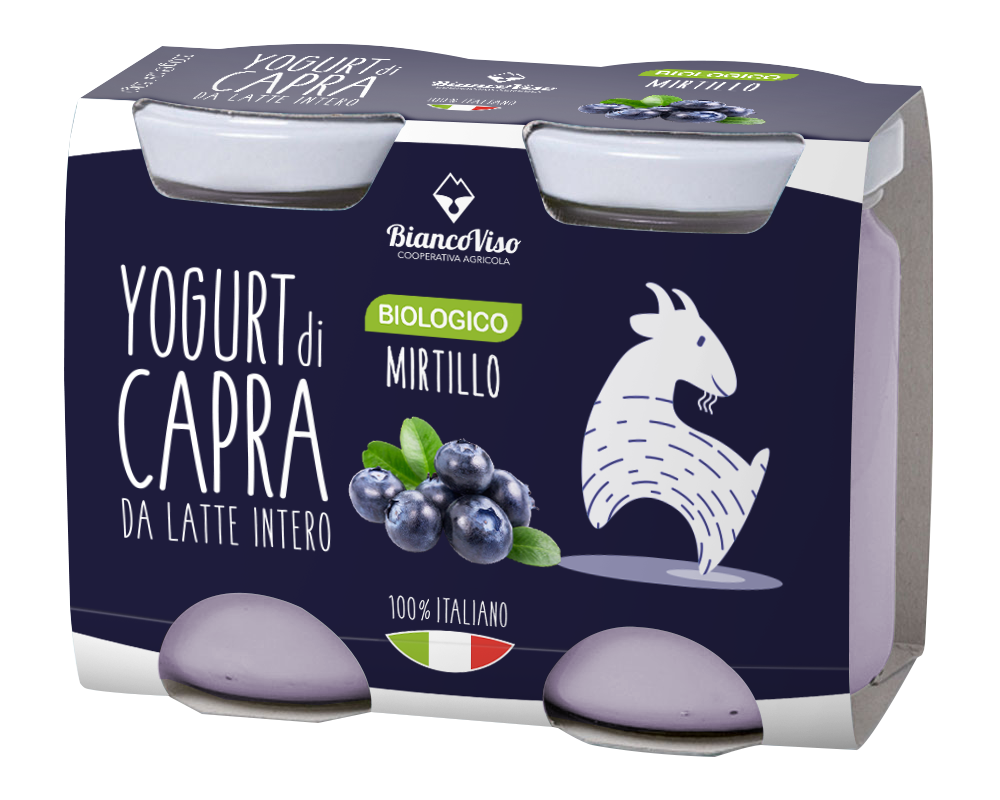 Yogurt gusto mirtillo