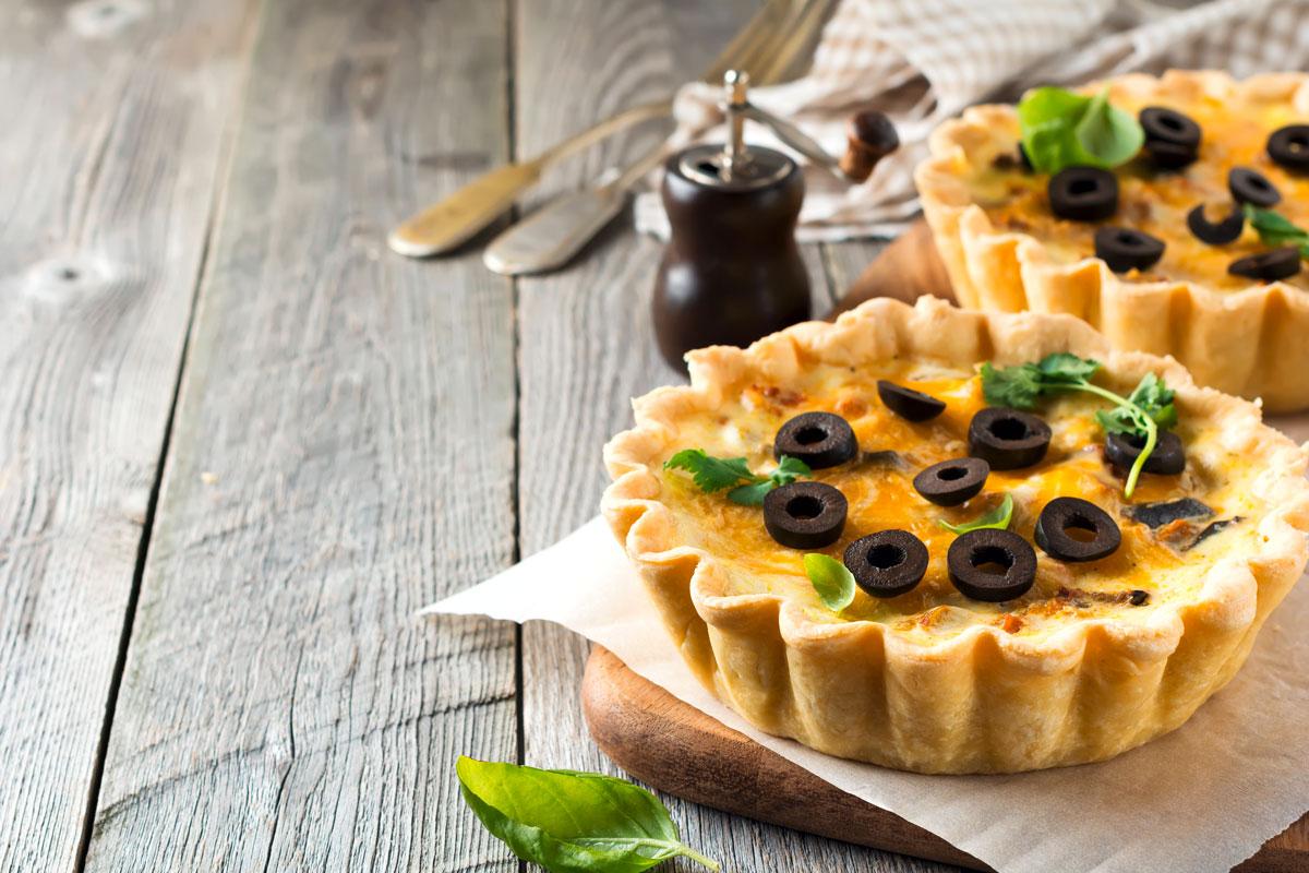 Tortine al Paté di Olive Taggiasche