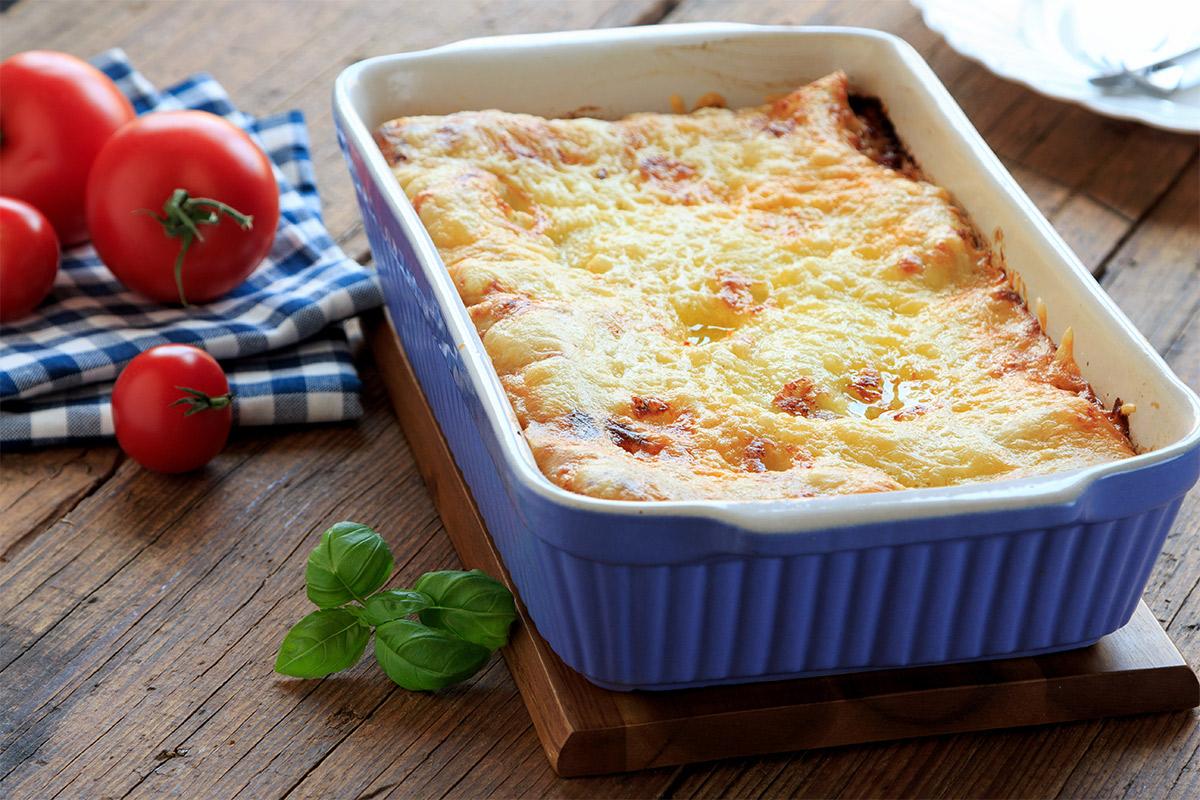 Lasagne con Tuma dla Paja Mini