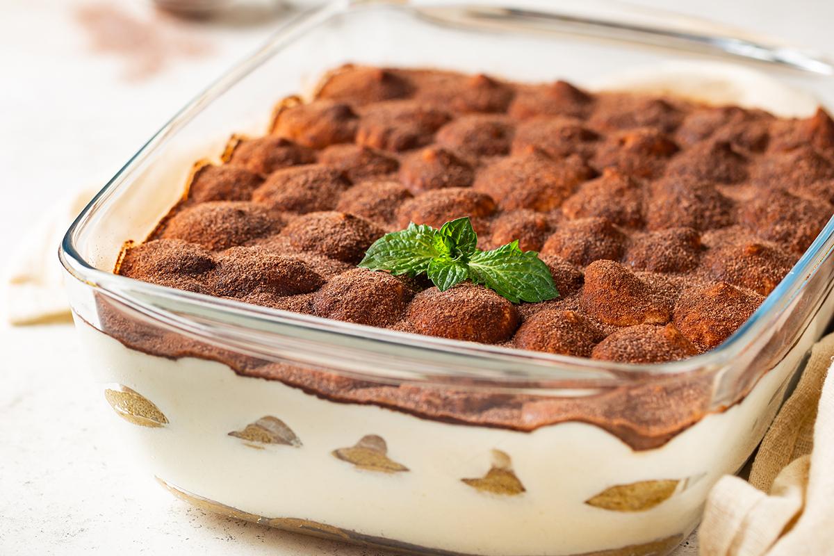 Tiramisù con biscotti integrali segale&grano